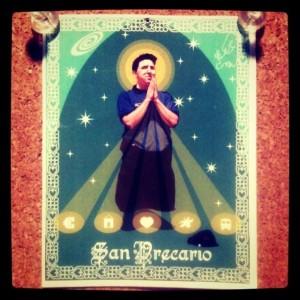 San Precario: Patron Saint of Precarious Workers