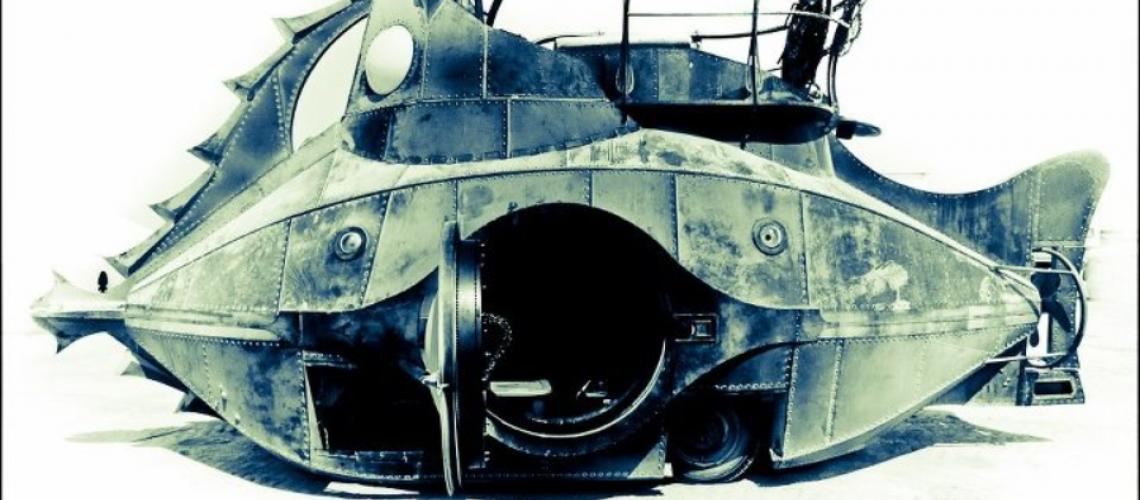 Nautilus Submarine Art Car