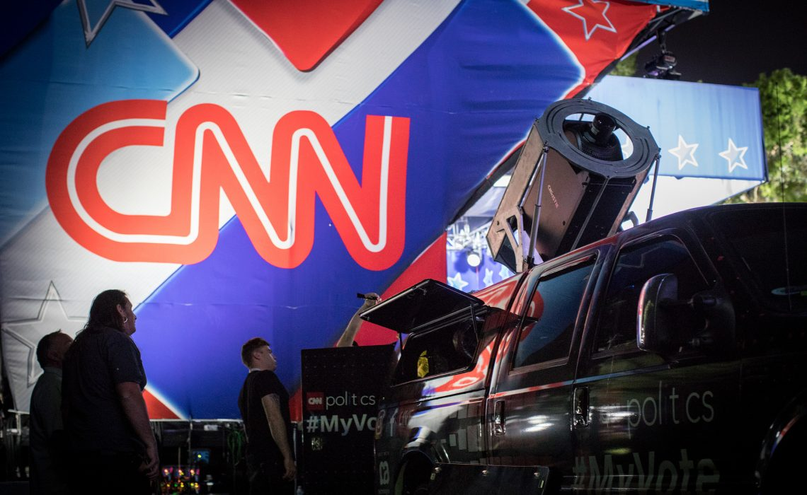 CNN Mobile Projections Vehicle