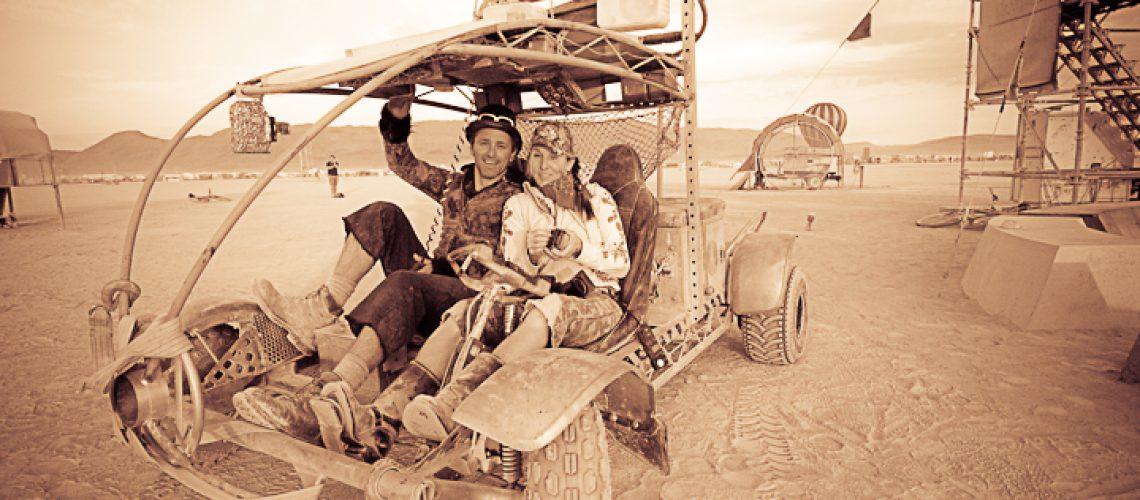 Raygun Rover at Burning Man 2009